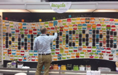 Interactive mural showcases paint stewardship at American Coatings Show