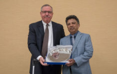 Dr Ray Fernando receives 2018 Mattiello Lecture Award at American Coatings Conference