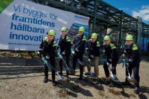 AkzoNobel Specialty Chemicals building demo plant for breakthrough ethylene amines technology in Sweden