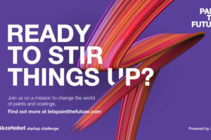 Let's paint the future together – the AkzoNobel startup challenge begins