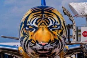 Aircraft maker Embraer goes wild with AkzoNobel's aerospace coatings