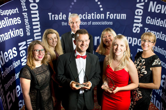 The British Coatings Federation​ (BCF) team crowned 'Trade Association of the Year 2017'